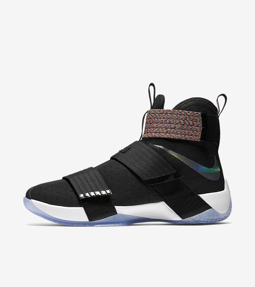 big sale 40d75 97d75 Nike LeBron Soldier 10  Unlimited  lateral