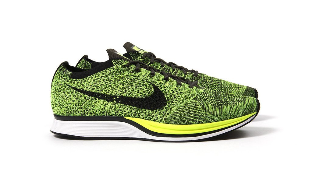 The Reinvented Nike Flyknit Racer  Volt  is Available Now - WearTesters a5a9c83327