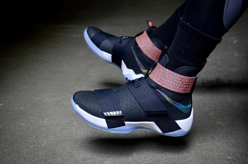 new style f0a6c 2aa34 The Multicolor Nike LeBron Soldier 10  Unlimited  is Available Now ...