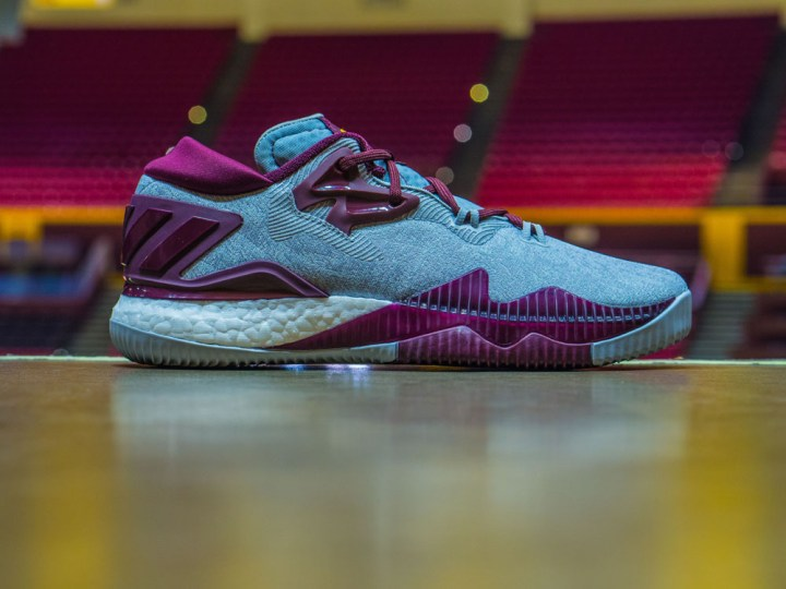 Get Up Close and Personal with the adidas CrazyLight Boost 2016 ASU Edition 1
