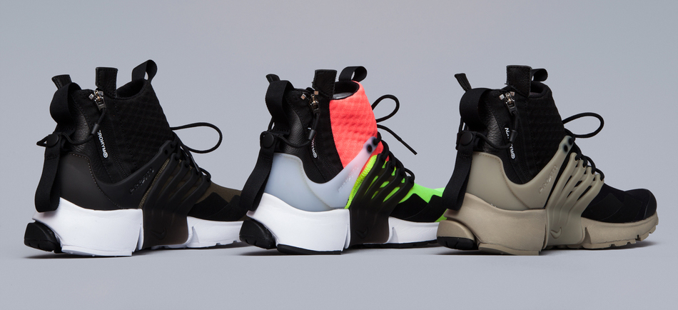 huge discount 65b40 6f9df NikeLab Acronym Air Presto Mid 1