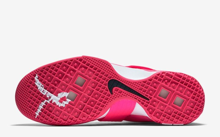 pretty nice 7a1bd 40b6b ... the-nike-zoom-lebron-soldier-10-kay  First Look at LeBron Soldier IX Kay  Yow Think Pink .