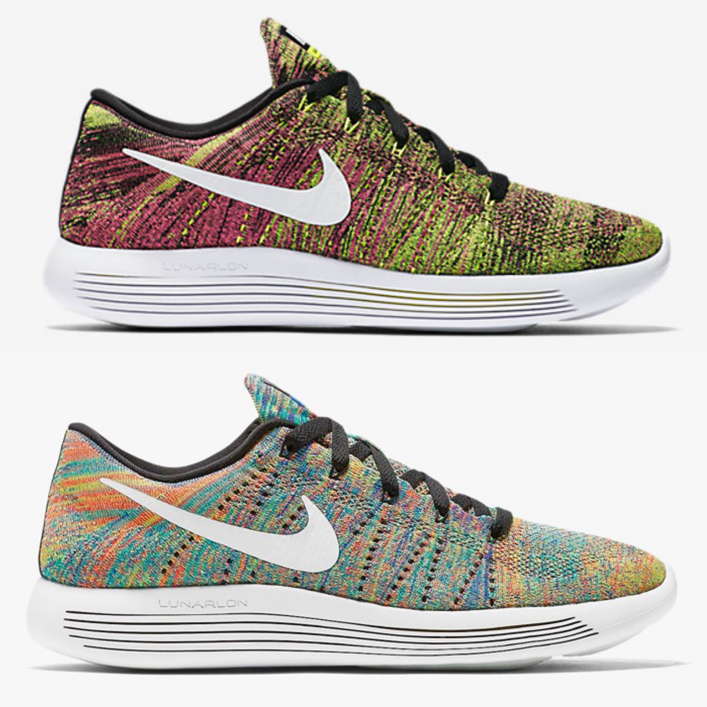 brand new 83d86 5bb78 ... Performance Running Deals Multicolor Nike Lunarepic Low Colorways .