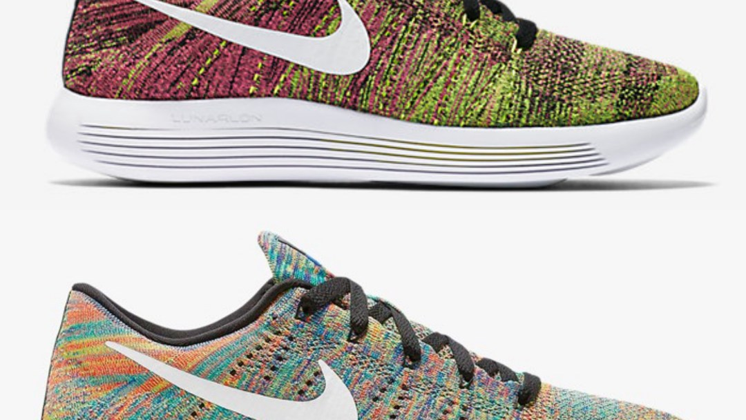 promo code 526f8 637d2 Performance Running Deals   Multicolor  Nike Lunarepic Low Colorways ...