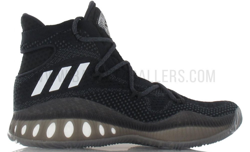 111fd796acf8 The adidas Crazy Explosive Primeknit  Black  is Available Overseas ...