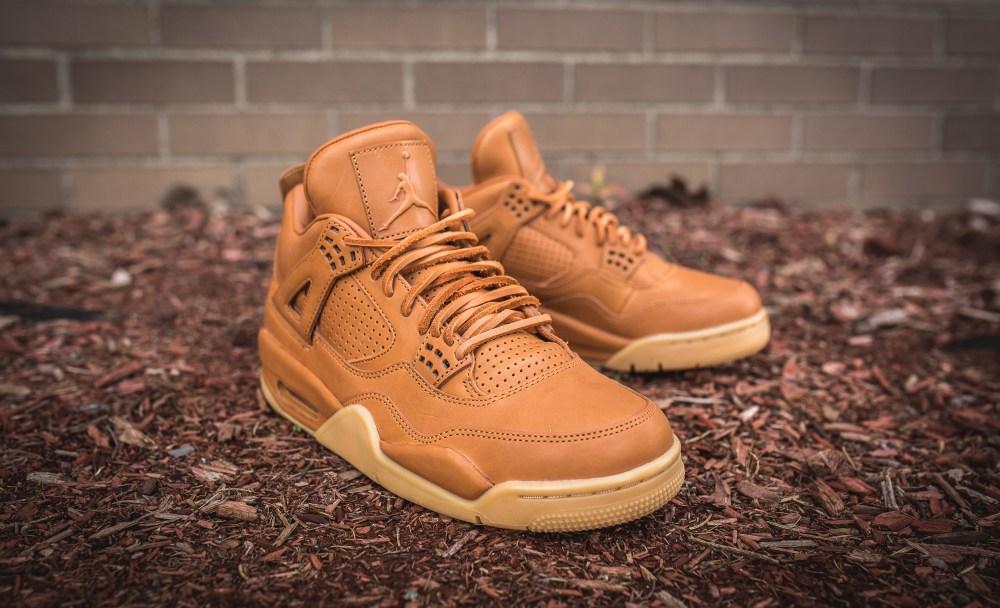 The Air Jordan 4 Retro Premium  Ginger Yellow Gum  Arrives this ... cebcbb2c4