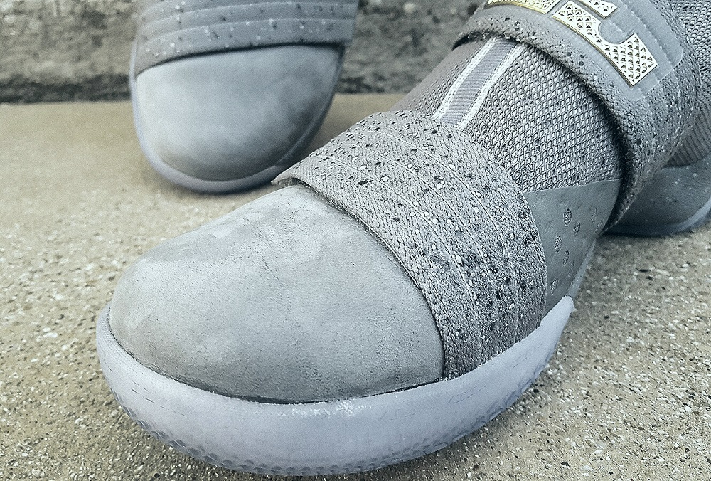 quite nice f4e8b 84c09 Nike LeBron Soldier X FSG PE Battle Grey 1