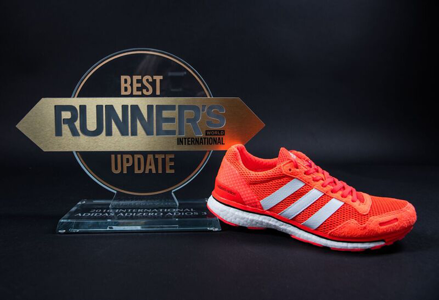 big sale 8bb38 e2b8a adidas Adizero Adios Boost 3.0 Recognized for Best Update Aw