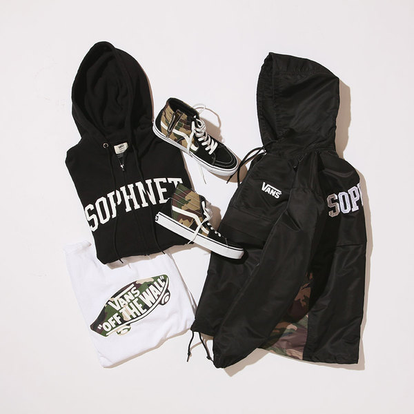 cca7646179 The SOPHNET. x Vans Camo Collection is Set to Release Overseas ...