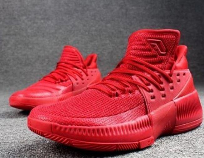50b7d14103d6 inexpensive adidas damian lillard 3 pink red 4ce32 9d3a8