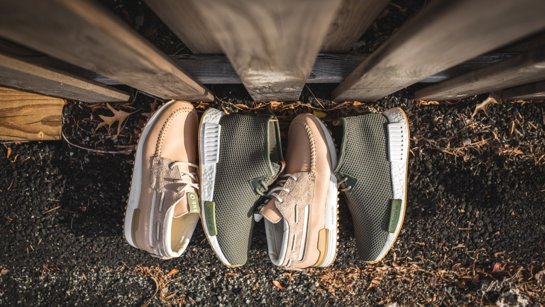 best loved 56d03 bf370 adidas x END NMD Chukka ZX700 Boat 2