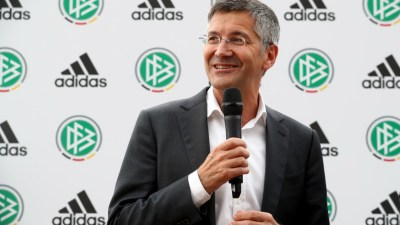 DFB And Adidas Press Conference reebok restructuring