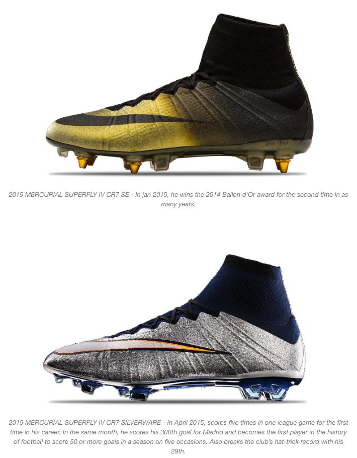 nike and cristiano ronaldo mercurial boots 9