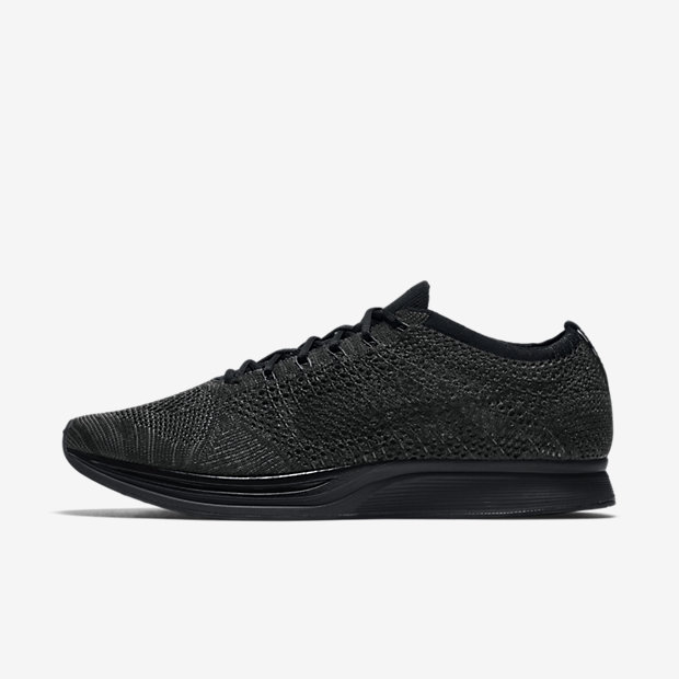 cheaper 8997a b422c nike flyknit racer  midnight