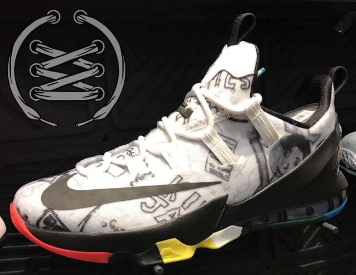 57d780d3b35 Up Close Look at the Upcoming Nike Air Lebron XIII Low Limited ...