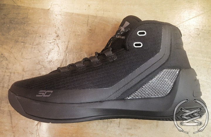 under armour curry 3 trifecta black 30