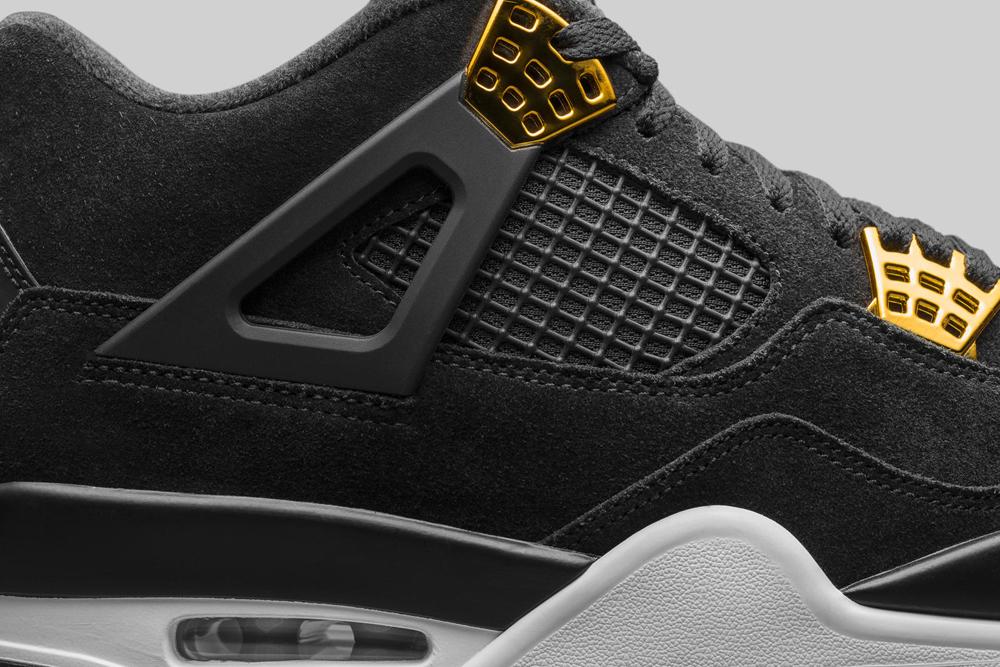 buy popular bd485 1e825 Air Jordan 4 Retro Black-Gold 4