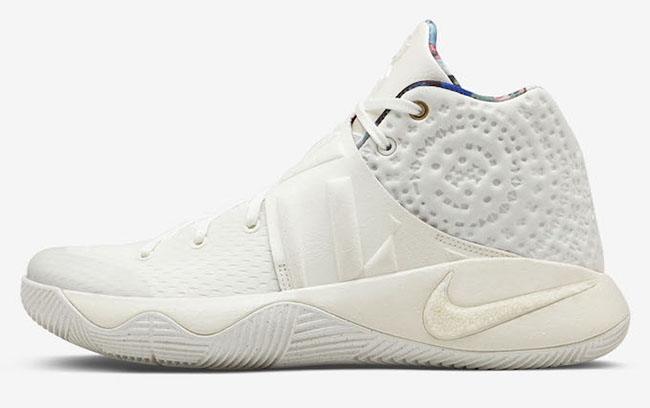 huge discount b3c25 df2bb Nike Kyrie 2 – What the – White