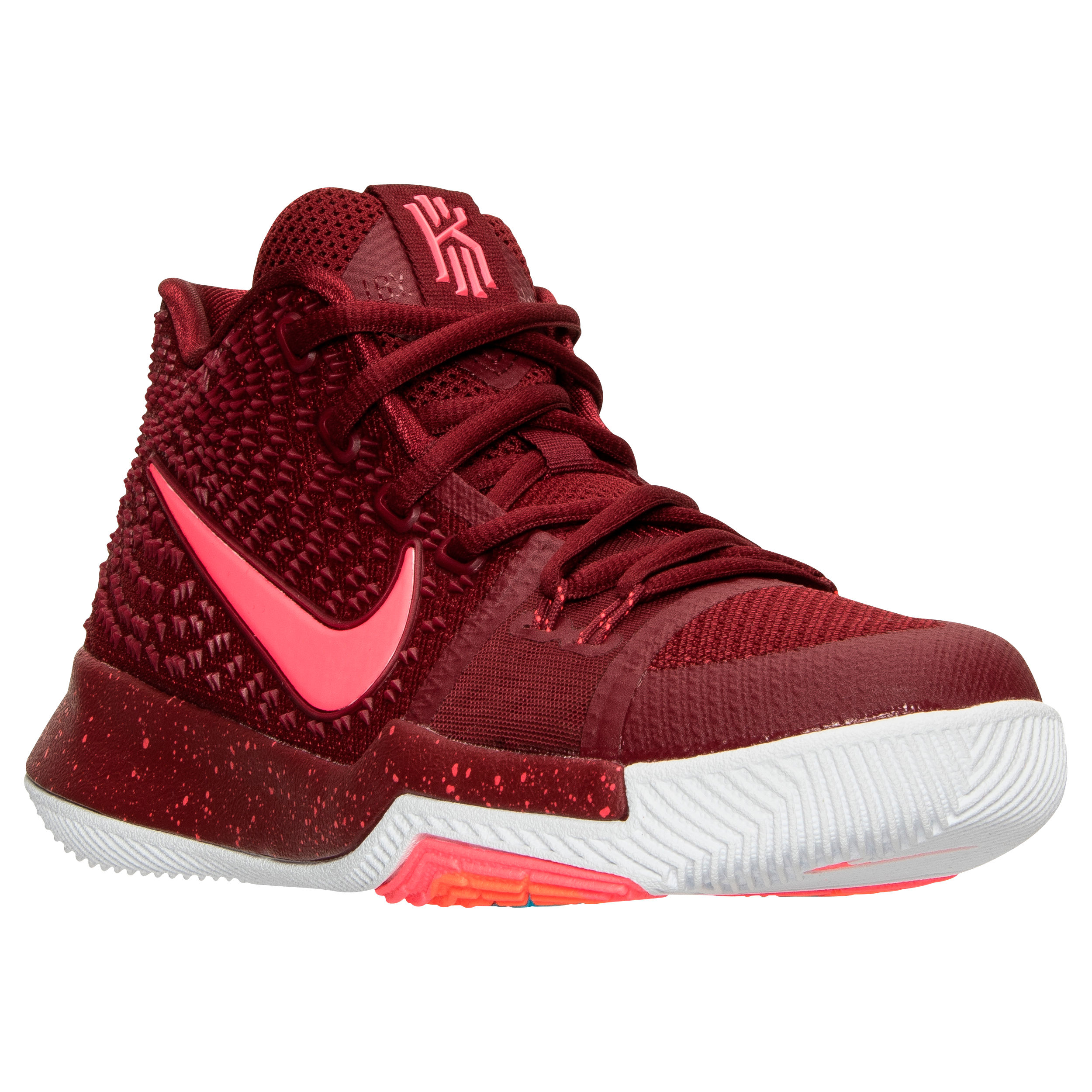 0af9063e110 A Look at the Upcoming  Team Red  Nike Kyrie 3 GS - WearTesters