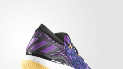 adidas Crazy Light Boost 2016 Primeknit Swaggy P - Heel Angle