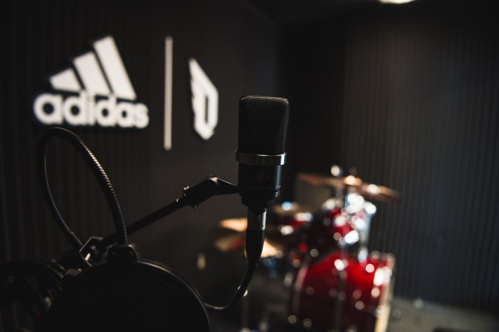 adidas Dame 3 Oakland High recording studio 1