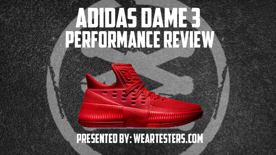 best sneakers d9a6a ad7b1 adidas Dame 3 Performance Review - WearTesters