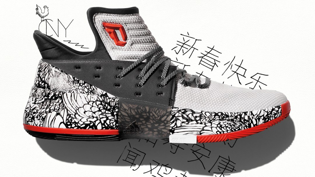 hot sale online 7bce4 06cd7 adidas Dame 3 chinese new year 6