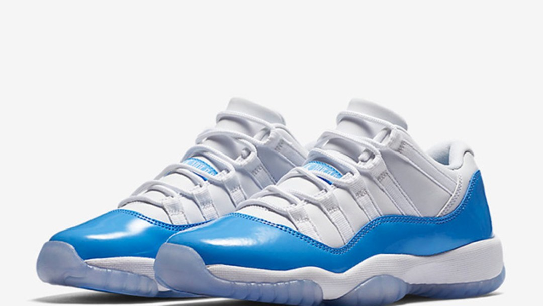 4c0c436c79a429 Two Jordan 11 Retro Lows for 2017 - University Blue and Black ...