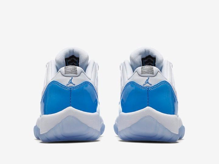5e406bf35a4c Two Jordan 11 Retro Lows for 2017 - University Blue and Black ...