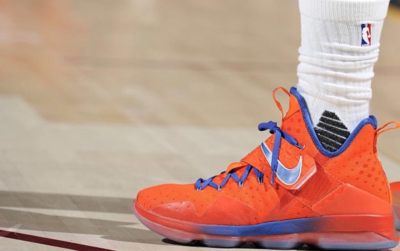c6e0cd600cea LeBron James Debuts Nike LeBron 14