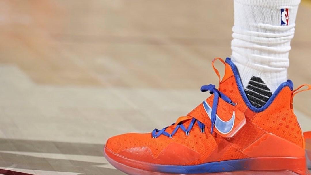 f756871f49431 LeBron James Debuts Nike LeBron 14