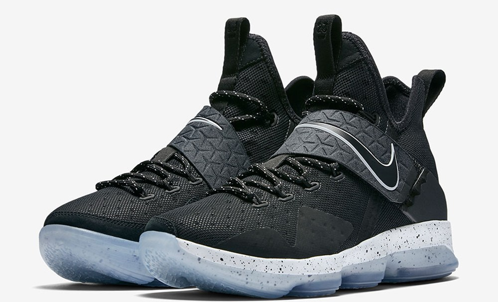 923704466b9 Get an Official Look at the Nike LeBron 14  Black Ice  - WearTesters