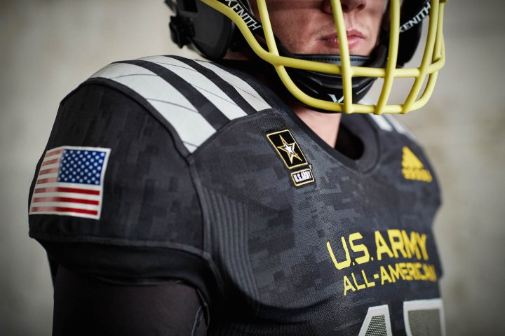 e8c8f263b39 adidas Unveils 2017 U.S. Army All-American Bowl Uniforms - WearTesters