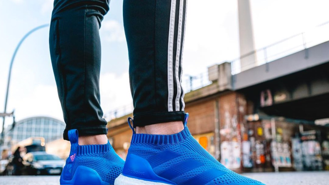 2f77001691f0f adidas Launches a Blue Blast ACE 16+ UltraBoost for New York ...