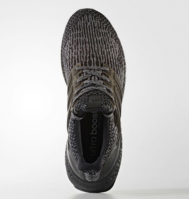 detailed look 2f28a 061e6 adidas Ultra Boost 3.0  Black Silver  4