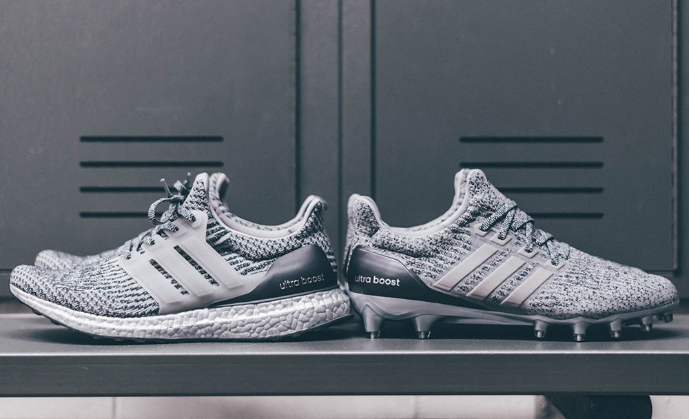buy online 3e070 83a25 adidas UltraBoost Cleat and UltraBoost 3.0 Silver Pack 1