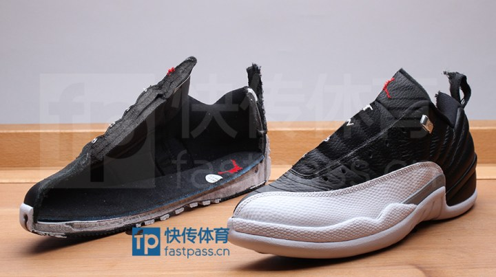 4be1f9d9df823a Air Jordan 12 Retro Low  Playoffs  Deconstructed - WearTesters