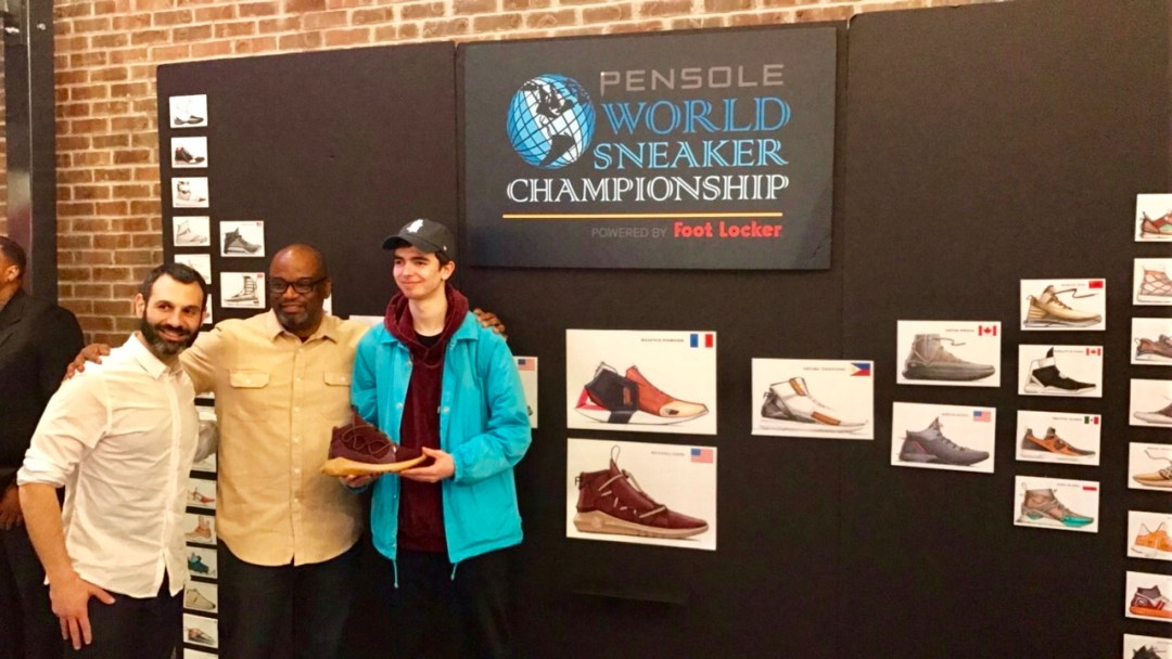 PENSOLE World Sneaker Championship maxwell lund 23