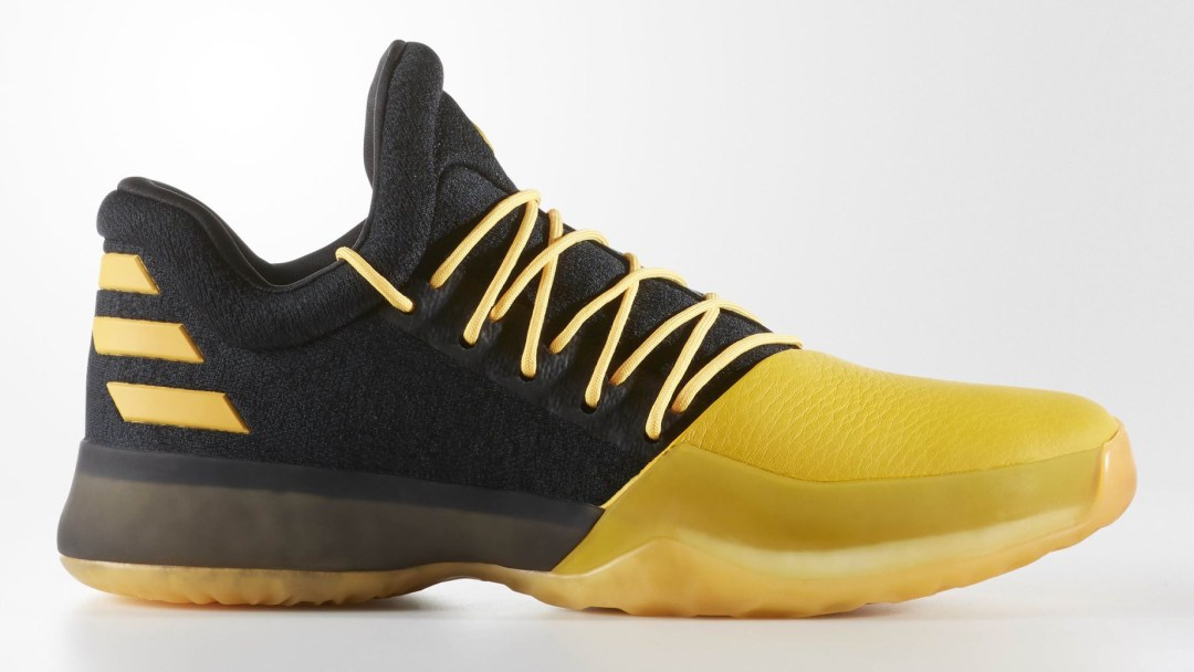 The adidas Harden Vol. 1 will Come in Black Yellow - WearTesters 56bae07911