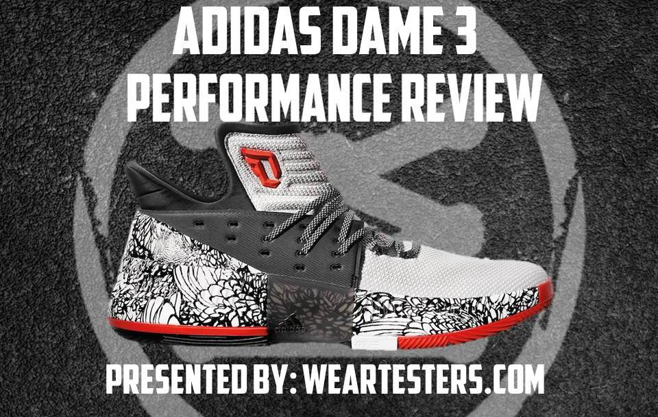 new product 714b0 083db adidas Dame 3 Performance Review - Duke4005 - WearTesters
