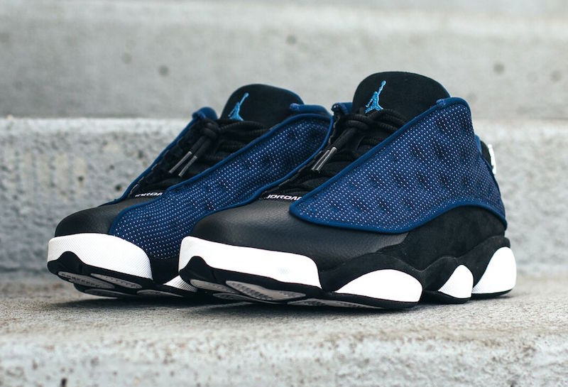 609019482cdad9 Another Look at the Air Jordan 13 Retro Low  Brave Blue  - WearTesters