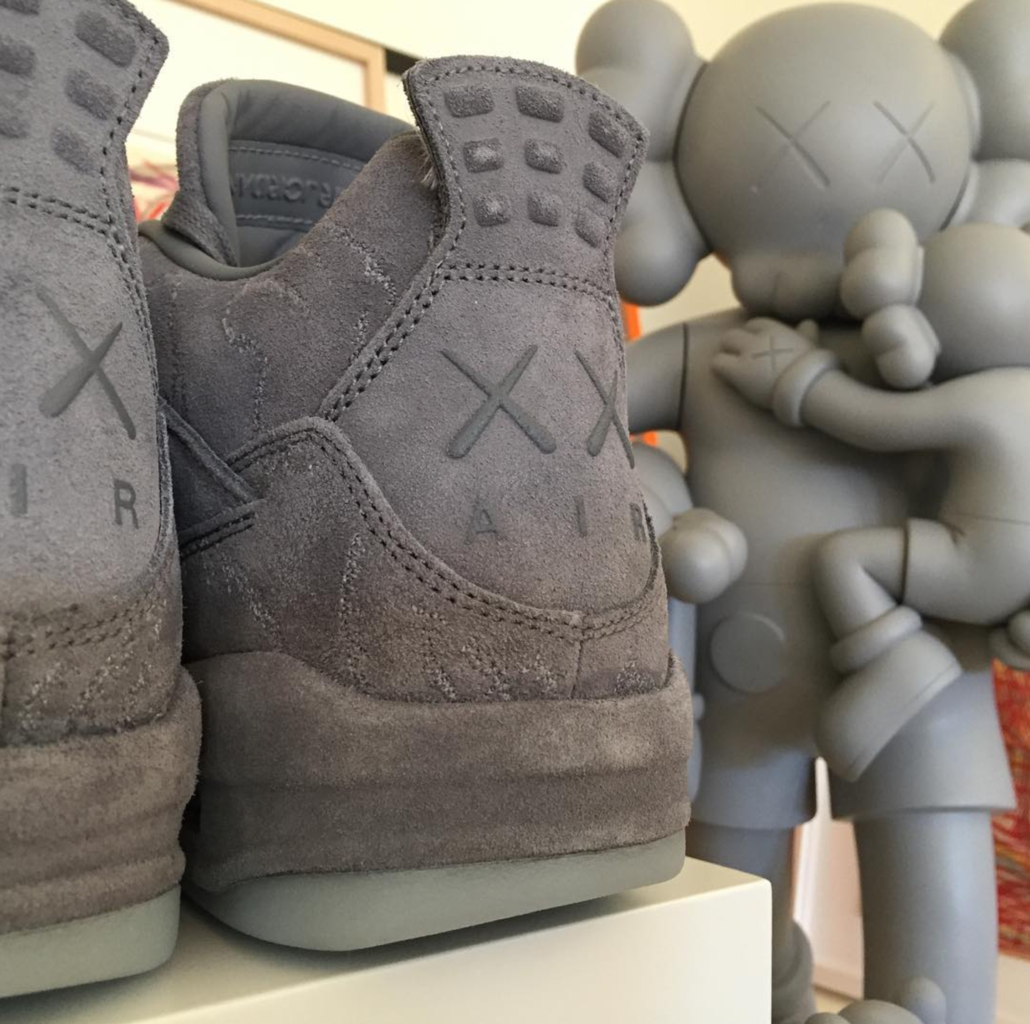 d5295405b18073 KAWS x air jordan 4 · Jordan Brand   Kicks On Court ...