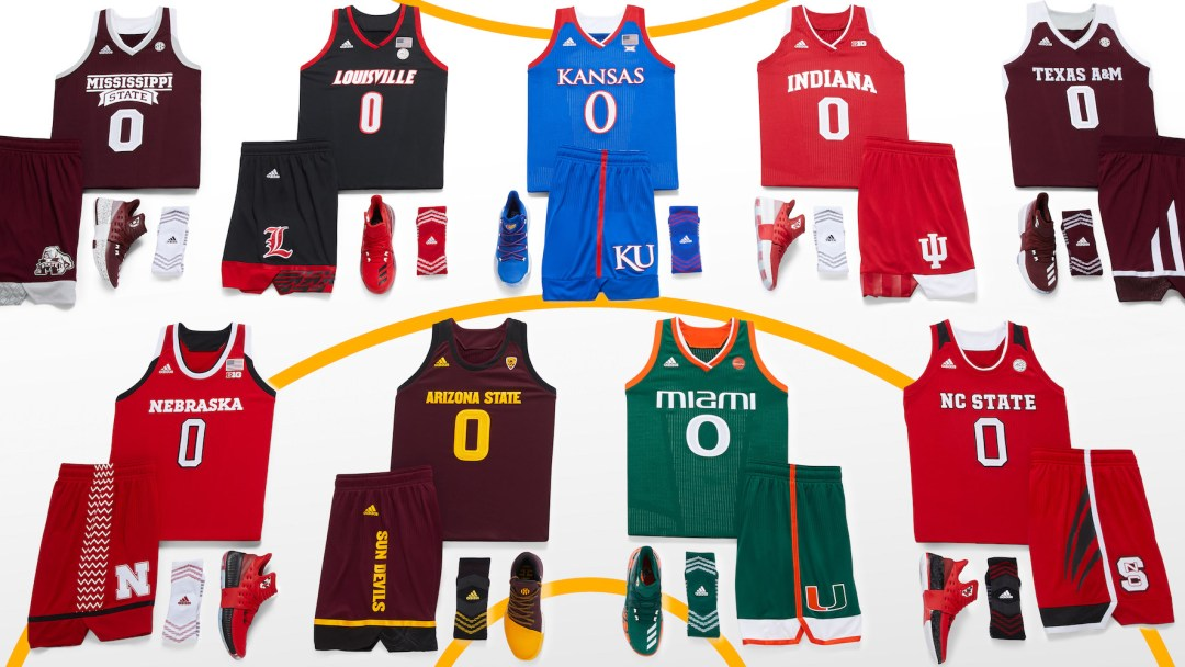 2471fa0aab1 adidas Unveils New Men s and Women s Uniforms for the NCAA ...