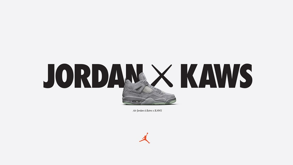 f11493b7 Finally, Jordan Brand Unveils the Air Jordan 4 Retro x KAWS ...