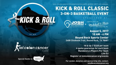 kiel colon cancer foundation 4th annual kick roll classic