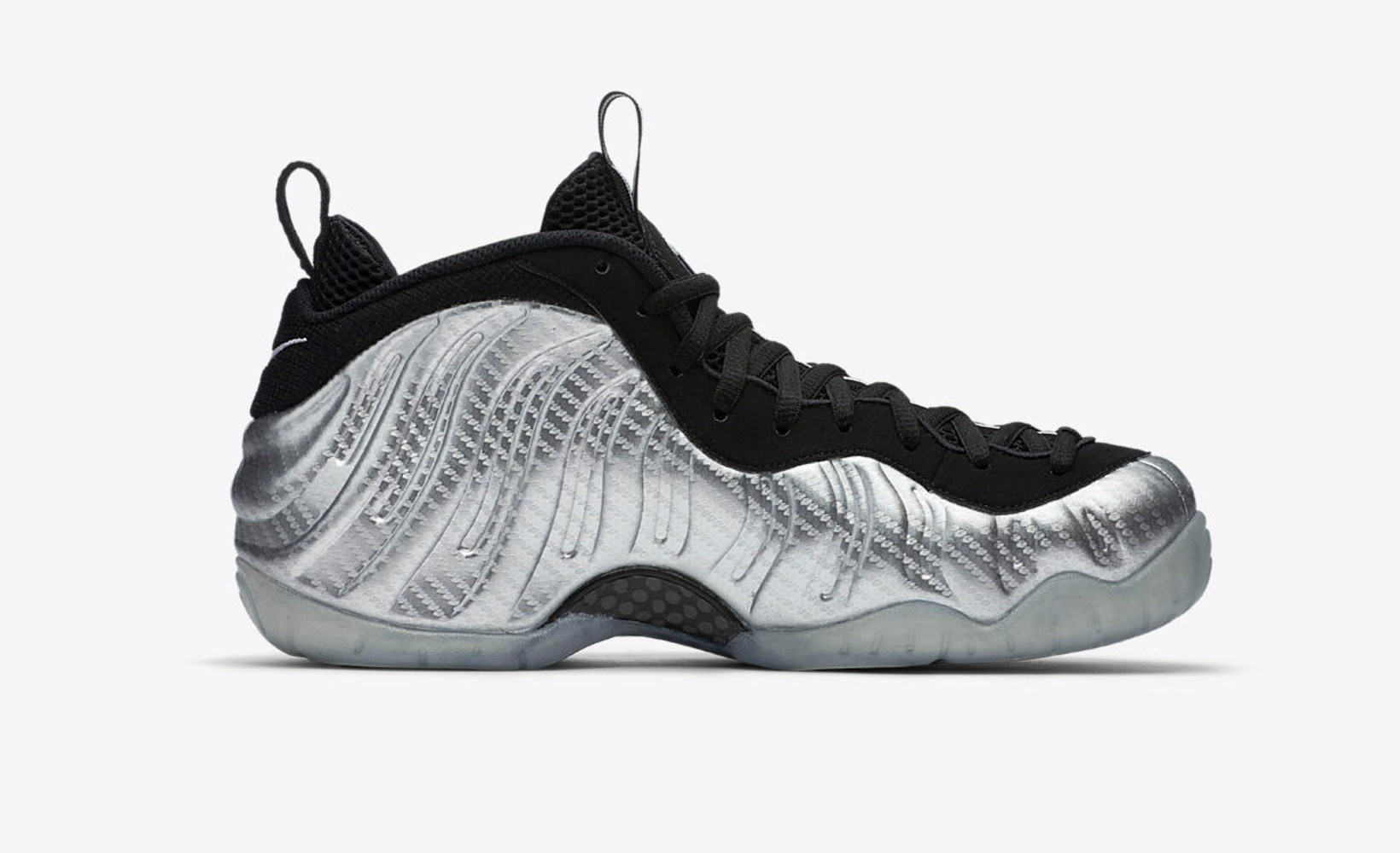 49767abbb52f6 nike AIR FOAMPOSITE PRO SILVER AGE 3 - WearTesters