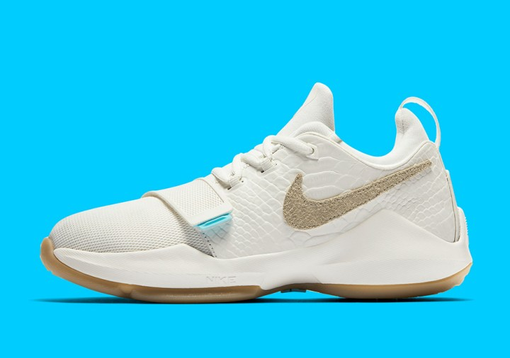 sale retailer c1208 2f1ce The Nike PG1 impresses with this beautiful  Ivory  edition of Paul George s  signature shoe.