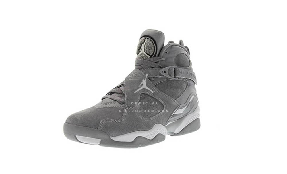 d884b1e04e70 A First Look at the Air Jordan 8 Retro  Cool Grey  - WearTesters