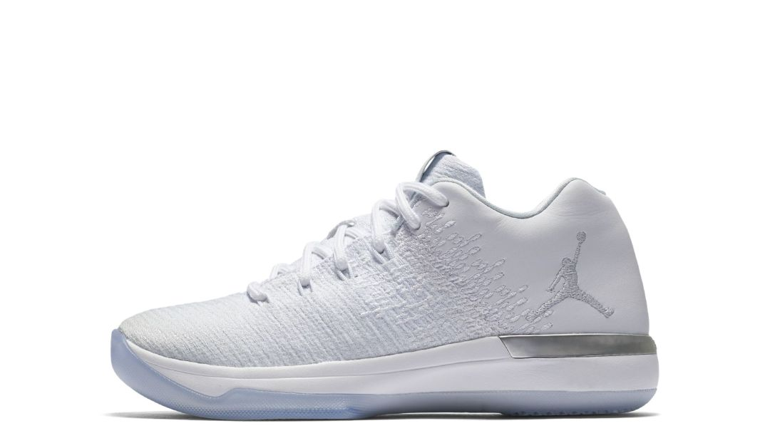 75ca1d15bb8955 Get an Official Look at the Air Jordan XXXI Low in Pure Platinum ...