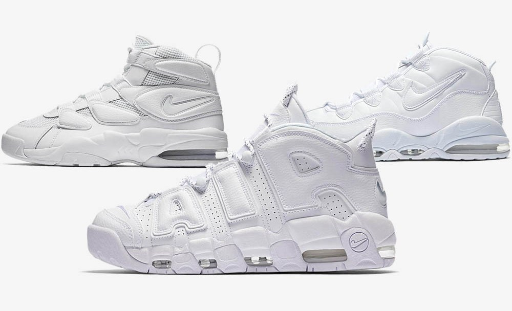 2f0cc1dbe An Official Look at the Triple White Nike Air Uptempo Pack - WearTesters